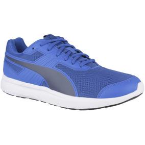 Zapatillas Puma Scaper Mesh Adp Azul Hombre - Puma