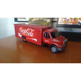 Camion A Escala Tipo International Durastar Coca Cola 1:24