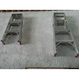 Escaleras De Aluminio 2 Y 4 Tramos