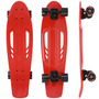 Skate Semi-long Kronik Cruiser Redland Abec 7 + Kit Proteção