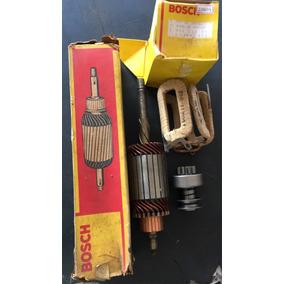 Motor Arranque Vw Fusca/kombi 1200 6v Induzido Bobina Bendix