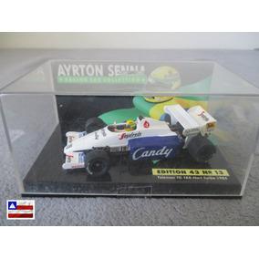 Miniatura Ayrton Senna - Toleman Tg 184 - Hart Turbo - 1984