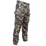 Pantalon Militar De Combate Britanico Woodland Dpm