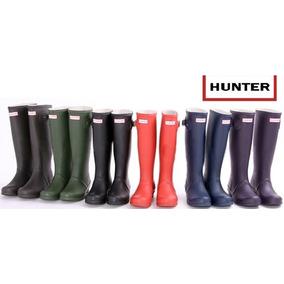 Botas Hunter De Invierno Lluvia Caucho Para Dama, Colores