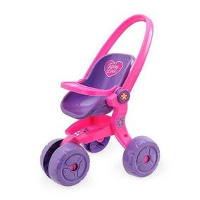 Carrinho Boneca Baby Love Usual Brinquedos