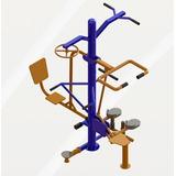 Multi Exercitador 7 X 1 - Academia Ao Ar Livre