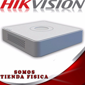 Dvr 4 Canales Hikvision Ds-7104hqhi-f1/n 1080p