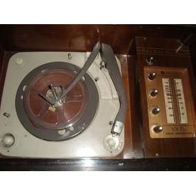 Antigüedad Vitrola, Grabador De Cita Y Radio A.m Jvc