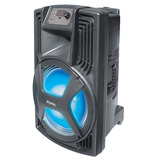 Multiplicador De Sonido Kioto S-15 Bl 1500w 15 Luces Disco