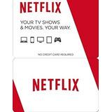 Cartão Presente 1 Ano Netflix R$150 Reais Envio Imediato