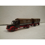 Enigma777 Wiking Camion Trailer Doble Antiguo Magirus S 7500