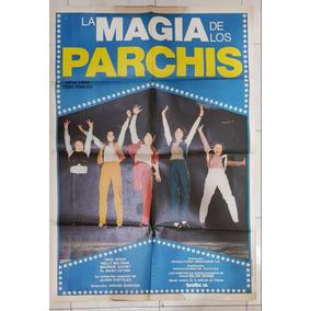 Antiguo Afiche De Cine- La Magia De Los Parchis- Enviogratis