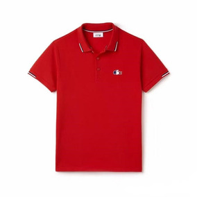 bb3c4dcb9387c Polo Masculina Lacoste Sport Ribbed Collar Original Fit