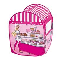 Barraca Toca Infantil Barbie Doceria + 50 Bolinhas