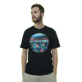 7ce57775f9 Camiseta Masculina Oneill Breezer Estampada Manga Curta - Pr