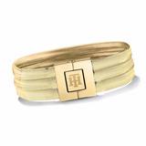 Pulsera Tommy Hilfiger 2700976 Bijoux Triple Acero Gold