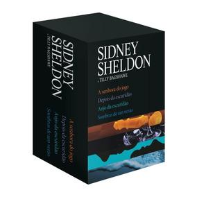 Livro Box Sidney Sheldon E Tilly Bagshawe A Senhora Do Jogo