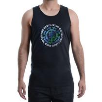 Camiseta Masculina Element Regata Básica Tree Logo Preto