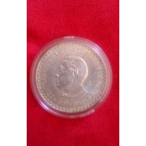 Moneda Plata Aniversario Constitucion 1857 100 Mil Acuñadas