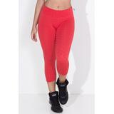 Calça Legging Suplex Tecido Bolha Academia Ginastica Fitness