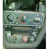 Painel Frontal Do Peugeot 306 Com Comandos Do Ar