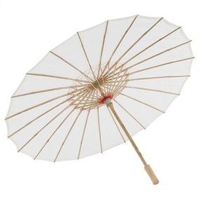 Sombrinha Japonesa Casamento Noiva Oriental Bambu 85 Cm