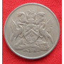 Jm* Trinidad Y Tobago 25 Cents 1966- Xf