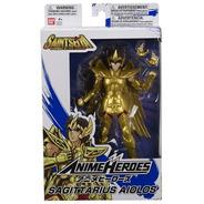 Boneco Sagittarius Aiolos Anime Heroes Cavaleiros Do Zodíaco