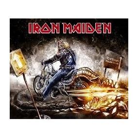 Bandeira De Banda De Rock Iron Maiden 23