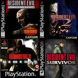 [ps1] Saga Resident Evil Para Playstation 1 (4 Juegos)