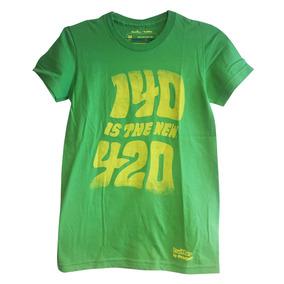 Remera Mujer Importada Estampada Threadless Verde