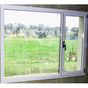 Ventana aluminio modena aberturas ventanas de aluminio for Ventanas de aluminio mercadolibre argentina
