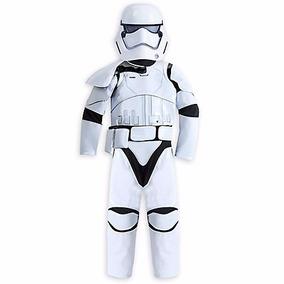 Star Wars Traje Stormtrooper Disfraz Disney Store T 5/6