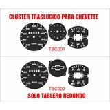 Indicadores Cluster Tablero Chevette Traslucidos