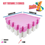 Kit 20 Placas Meninas Rosa Branco Bebês Infantil 50x50x01cm