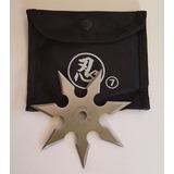Shuriken De 7 Puntas Estrella Ninja Con Funda Kunai