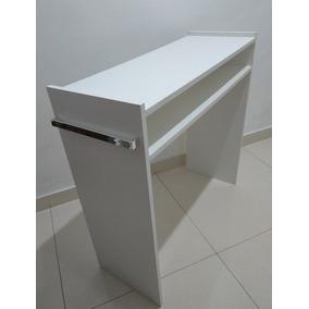 Mesa Escrivaninha,escritório,multi-uso C/alças Cromadas 80cm