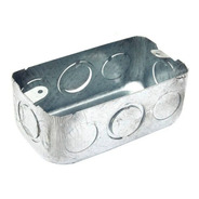 Caja Rectangular Chapa Embutir Homologada Iram X 10 U