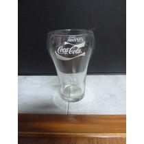 Vaso De Vidrio De Coca Cola Con Logo De Colección