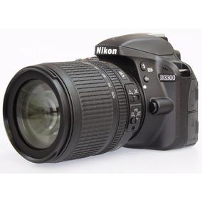 Câmera Nikon Dslr D3300 Com Lente 18-105mm 24.2 Mp Full Hd