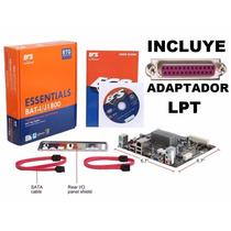 Kit Actualizacion Tarjeta Ecs J1800 Puerto Lpt Impresora