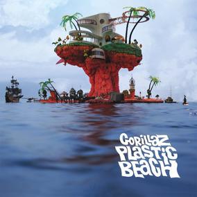Gorillaz Plastic Beach 2 Vinilos Importados De 180 Gramos