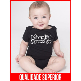 Body Charlie Brown Jr Chorão Roupas Menina Menino Preto