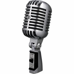 Shure Super 55sh Ii Microfone Vintage De Estúdio . Original