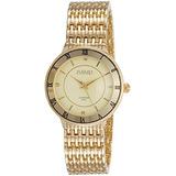 Reloj De Agosto Steiner De La Mujer As8178yg Oro Amarillo D