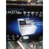 Multifuncional Hp Laser Jet Pro Color M377dw Super Oferta