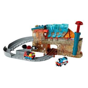 Thomas & Friends Fábrica De Locomotoras Fisher Price Tren