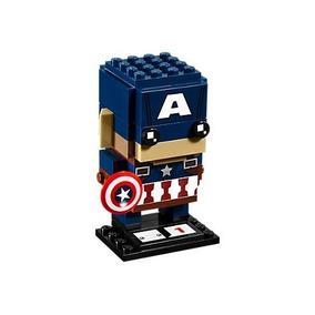 Lego Brick Headz 41589 Capitan America Avengers Marvel
