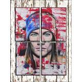 Cuadros Tripticos Murales Modernos Axl Rose Pop Art Oferta!!