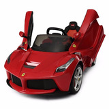 Carro Eléctrico Montable Para Niños Ferrari Rastar